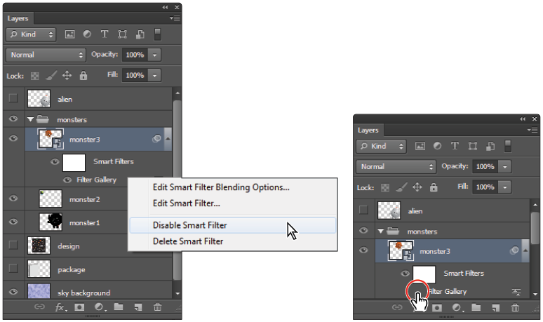 Photoshop Tutorial Taking Advantage Of Smart Filters In Photoshop Cs6
