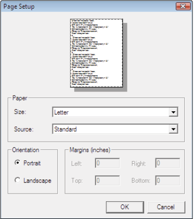 photoshop elements tutorial setting page and printer options in