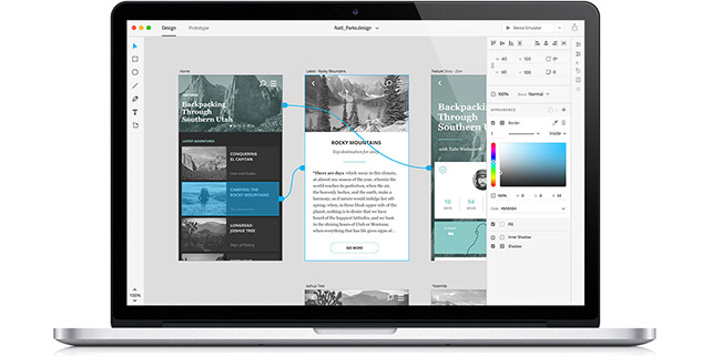 UX Prototyping App coming from Adobe