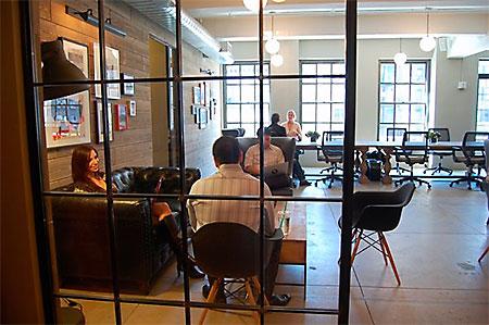 AGI Training NYC Classroom Center Common Area