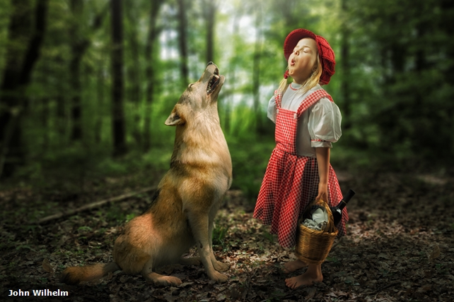 Father uses Photoshop to create elaborate portraits of daughters