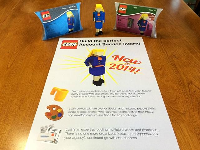 Lego Leah leaves a legacy