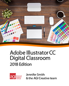 Illustrator CC 2018 Digital Classroom Book