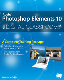 Photoshop Elements 10 Digital Classroom Book with video training