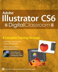 Illustrator CS6 Digital Classroom Book with video training