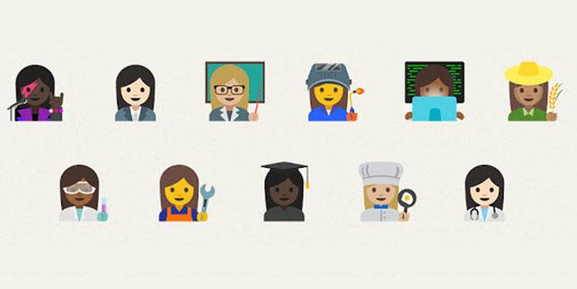 Emoji Designed with Illustrator Expand Diversity
