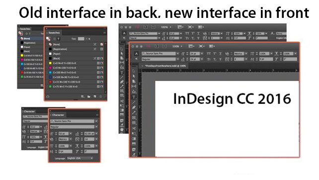 InDesign CC 2016 New Features