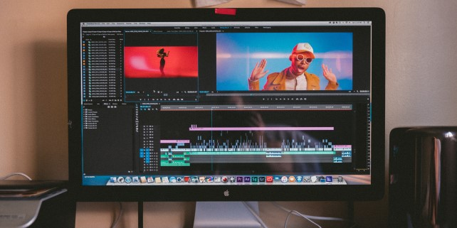 Image showing video editing app when deciding whether to learn Premiere Pro or Final Cut Pro for video editing.