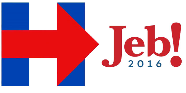 Campaign Logos Take Center Stage