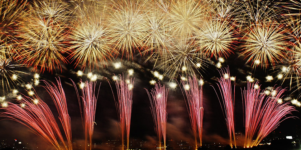 How to photograph fireworks: creating great images without Photoshop
