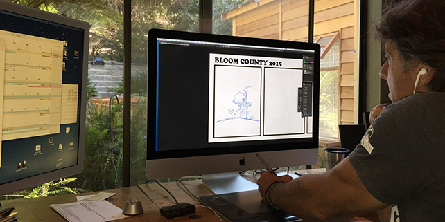 Photoshop helps bring Bloom County into 2015