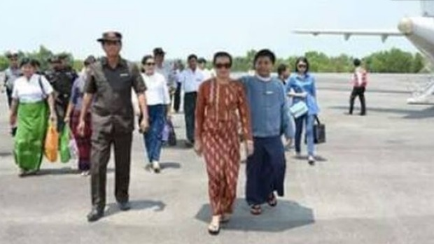 Photoshop disaster strikes government of Myanmar