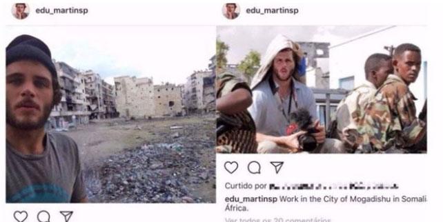 Photoshop Fake News Photographer