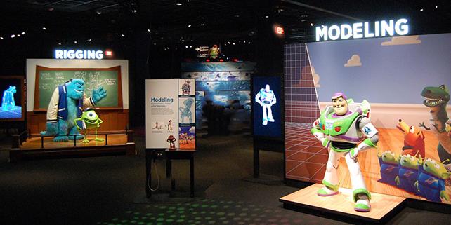 Pixar Exhibit in Boston a Delight for Digital Artists