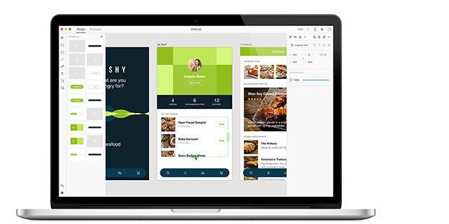 Adobe UX App updated in Creative Cloud 2017
