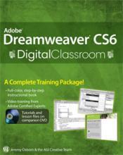 Dreamweaver CS6 Digital Classroom Book with video training