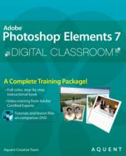 Photoshop Elements 7 Digital Classroom Book with video training