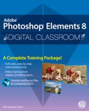 Photoshop Elements 8 Digital Classroom Book with video training