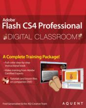 Flash CS4 Digital Classroom Book with DVD