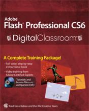 Flash CS6 Digital Classroom Book with video tutorials