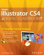Illustrator CS4 Digital Classroom Book with video training