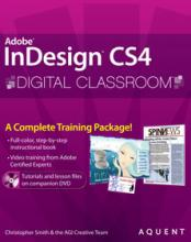 InDesign CS4 Digital Classroom Book with video training
