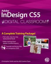 InDesign CS5 Digital Classroom Book with video training