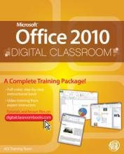 Office 2010 Digital Classroom Book
