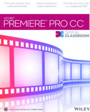 Premiere Pro CC Digital Classroom Book with video training