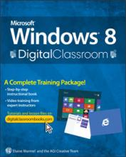 Windows 8 Digital Classroom Book with DVD