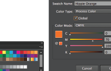 Illustrator Tutorial: Saving Swatches