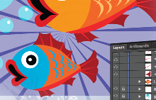 Illustrator tutorial: Organizing your Illustrations with Layers in Illustrator