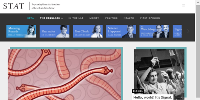 New BioTech and health news site launches